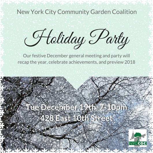 NYCCGC Holiday Party