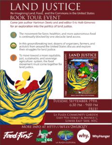 Land Justice Book Tour