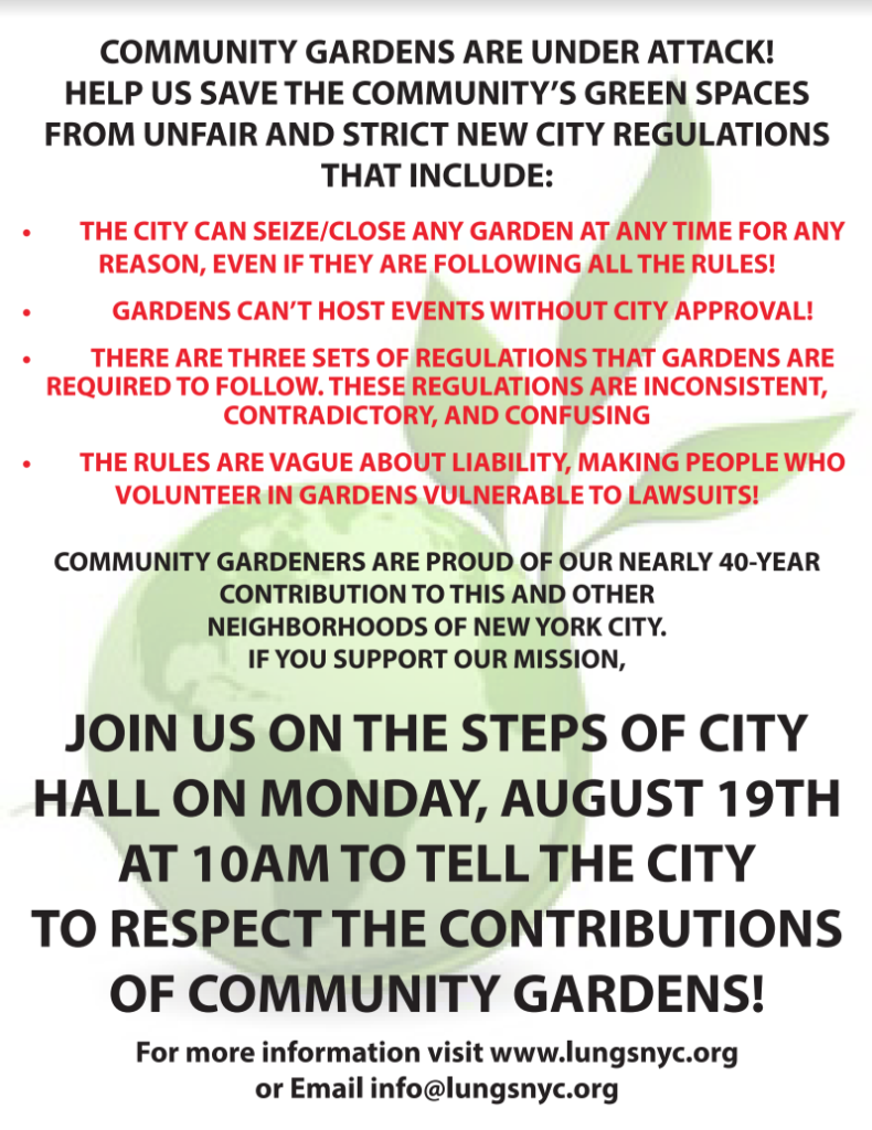 CANCELED Rally at City Hall: A citywide stakeholder response